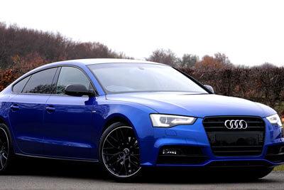 Audi-A5-Trenton-Blue-foliert