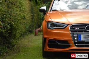 Audi S3 Lambo Orange