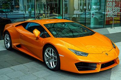 Lamborghini-Folierung