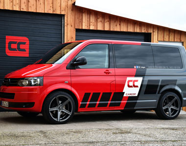 VW T5 wrap Design